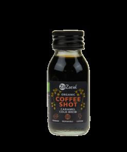Kaffe shot Karamel.
