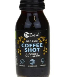 ZoZozial Coffee Shot Licorice