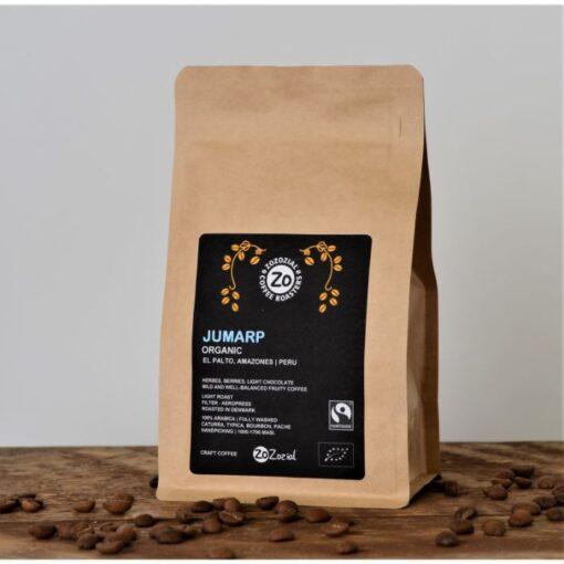 Peru light roast organic fairtrade coffee