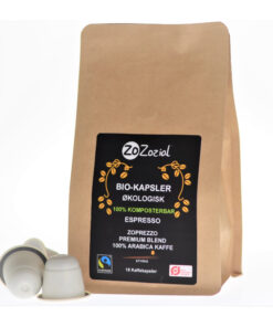 Sustainable Coffee Capsules/Pods | Organic and Fairtrade