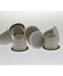 Sustainable ZoPrezzo blend coffee capsules podsorganic fairtrade