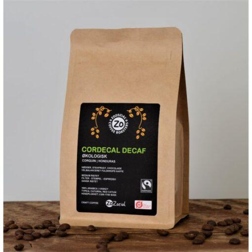 Coadecal Decaf koffeinfri økologisk fairtrade kaffe