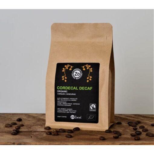 Coadecal Decaffeinated organic Fairtrade Coffee